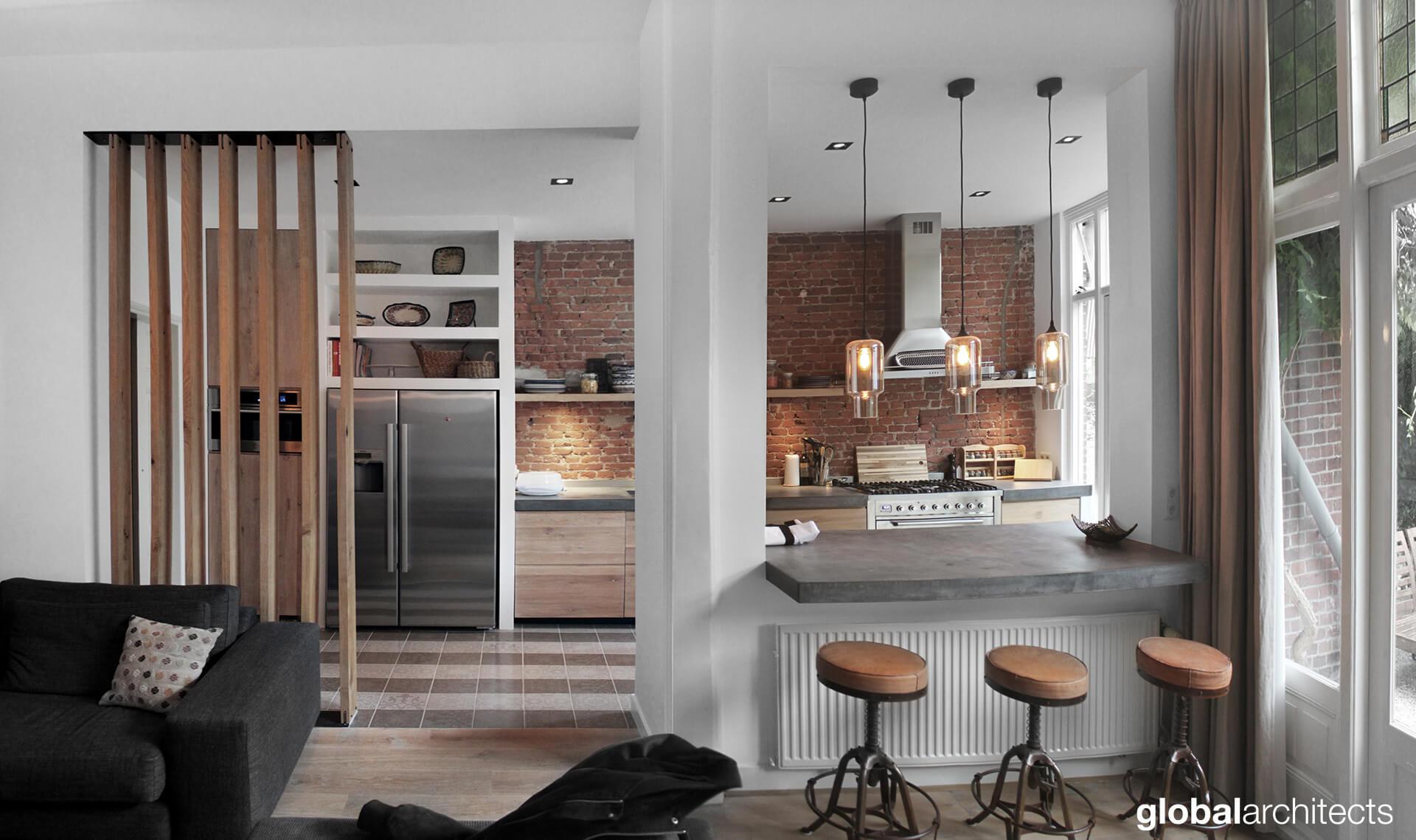 renovatie & interieur Danckerstraat Den Haag - Global Architects ...