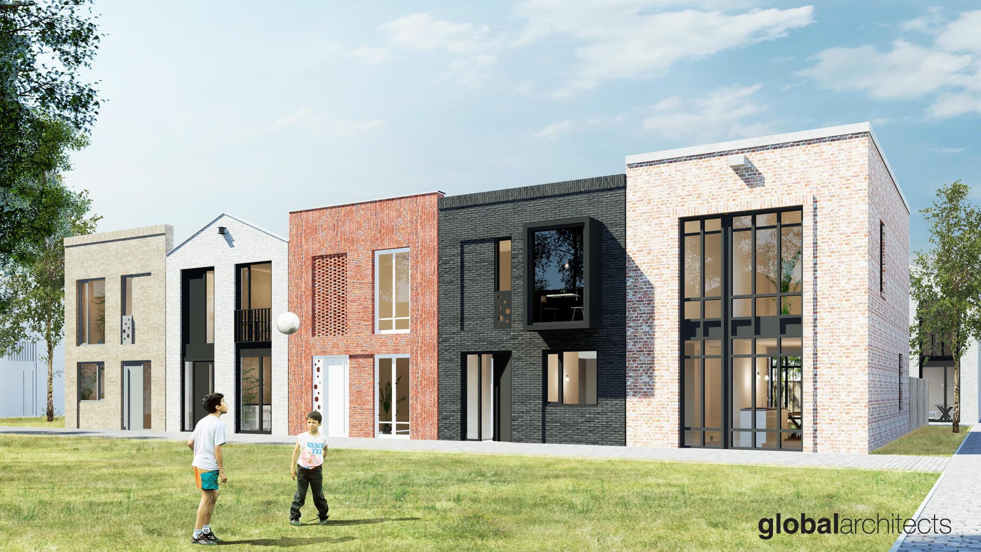Architectenbureau Den Haag : Ibb ikbouwbetaalbaar den haag zelfbouw haagse huisjes