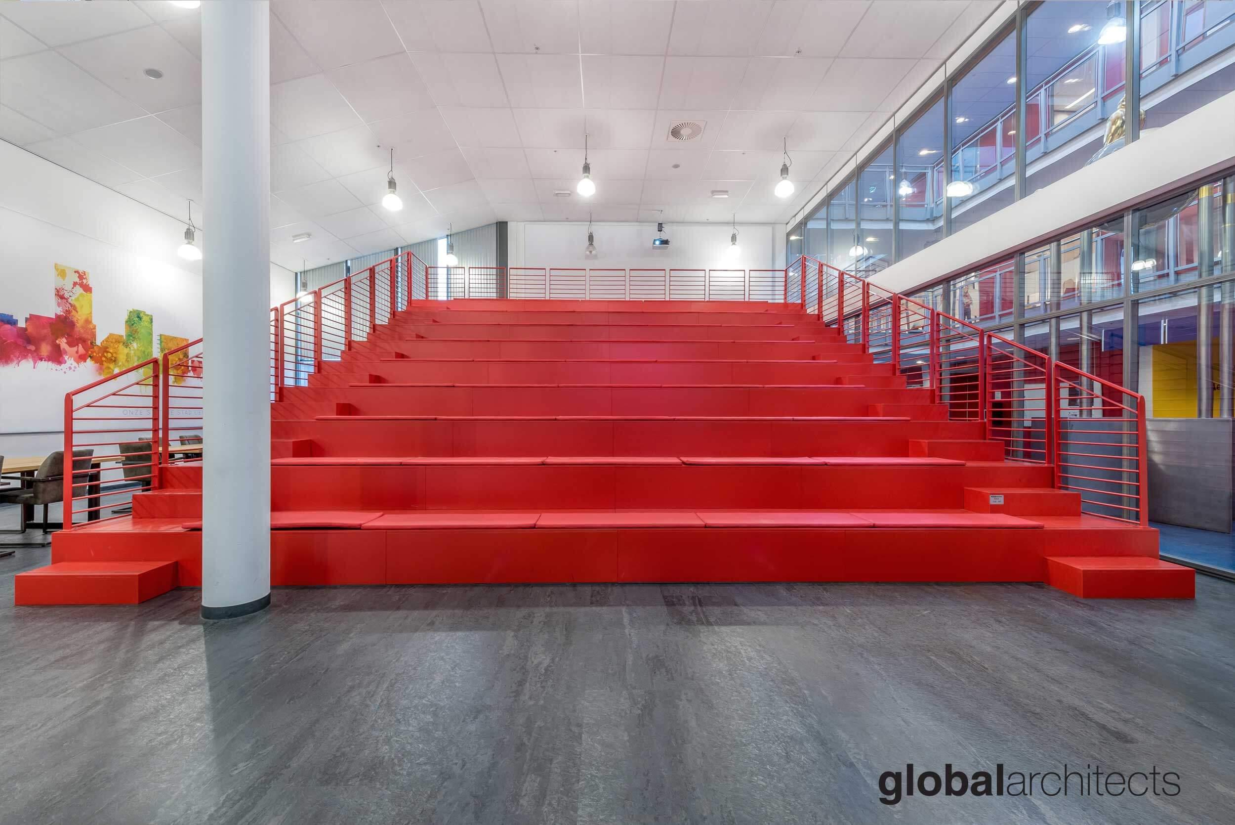 Architectenbureau Den Haag : Roc mondriaan interieur ontwerp architectenbureau denhaag global