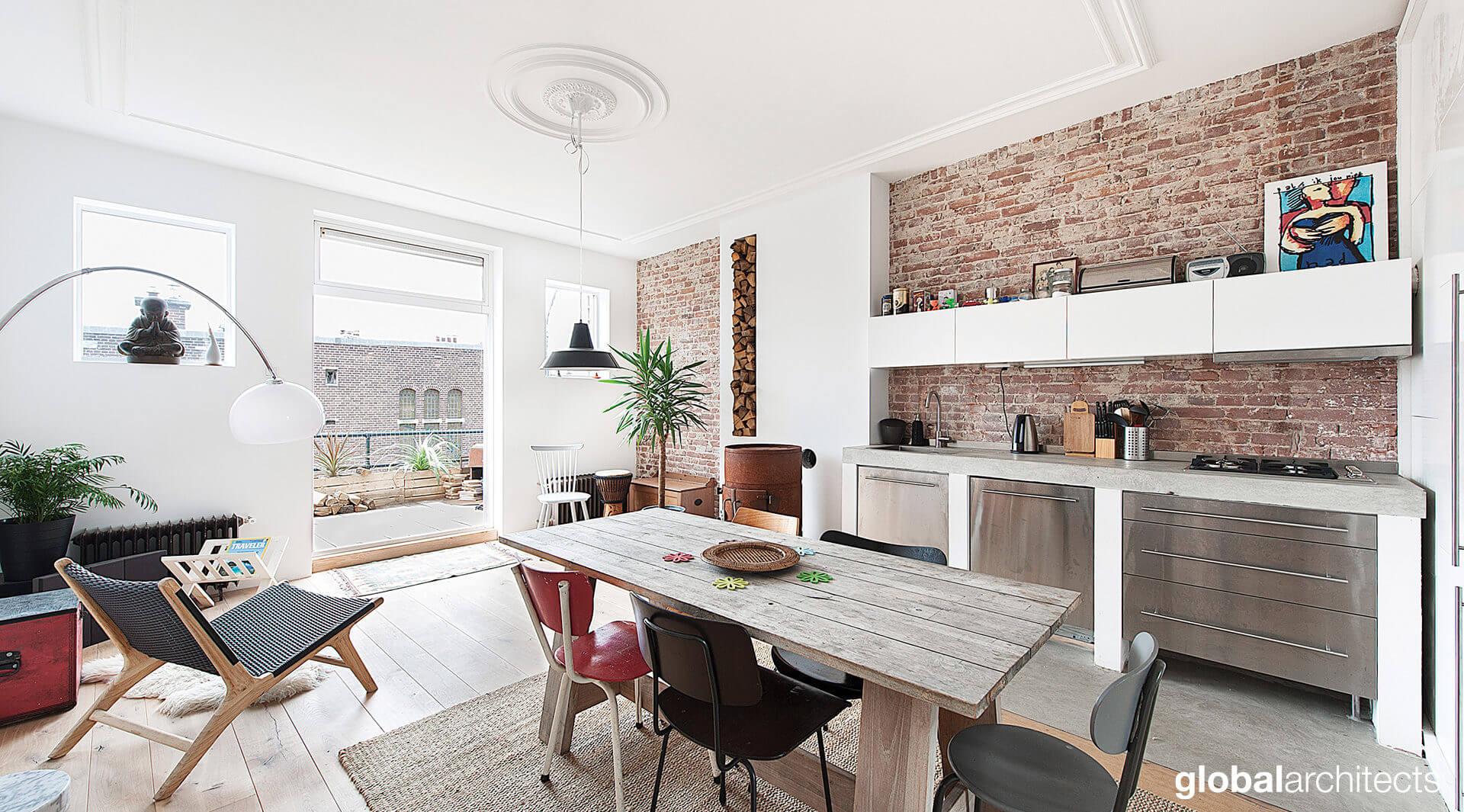Re-Use renovatie & interieur herenhuis 1902 - Global Architects ...