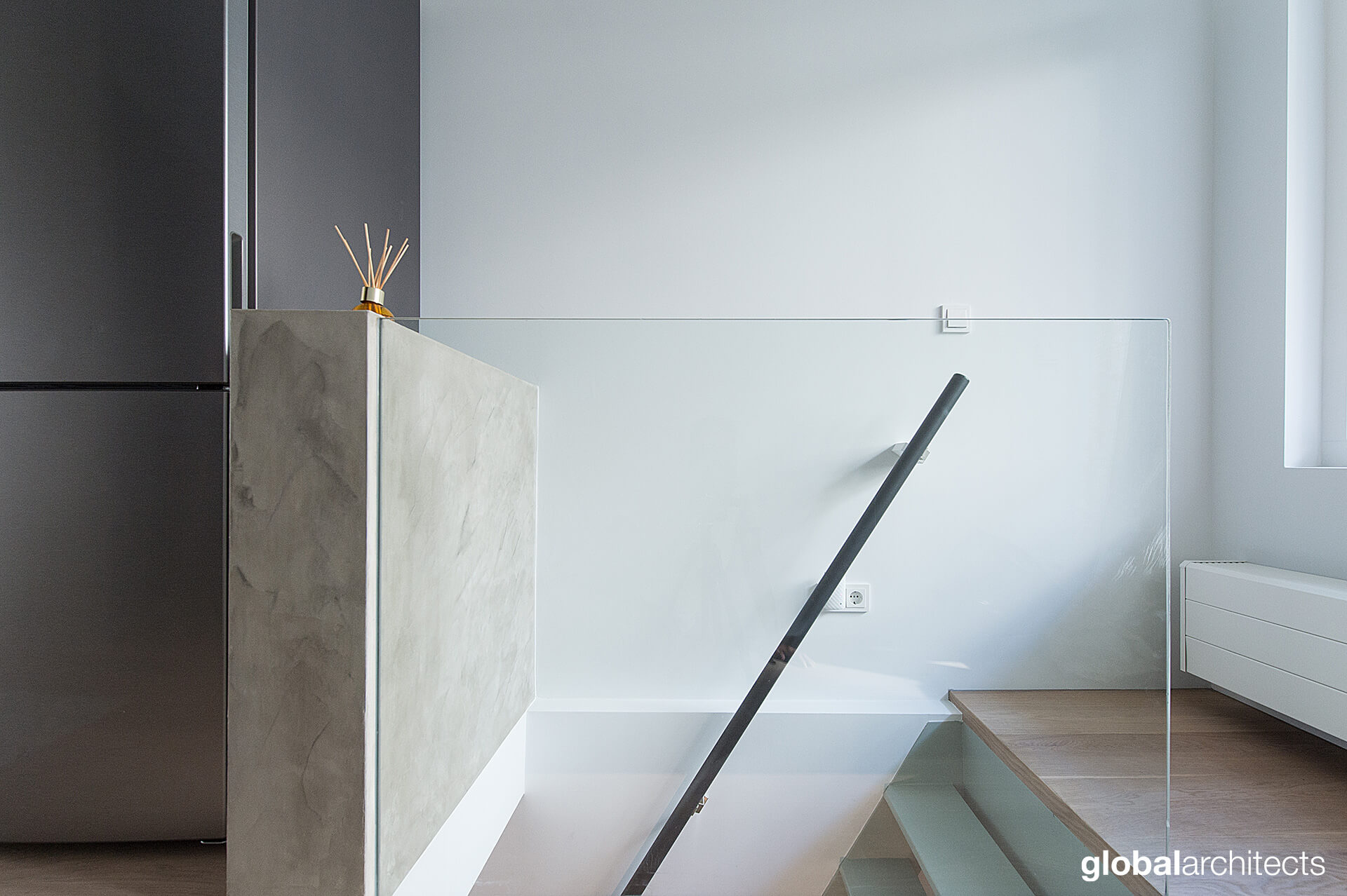 Loft jordaan global architects architectenbureau den for Loft interieur den haag