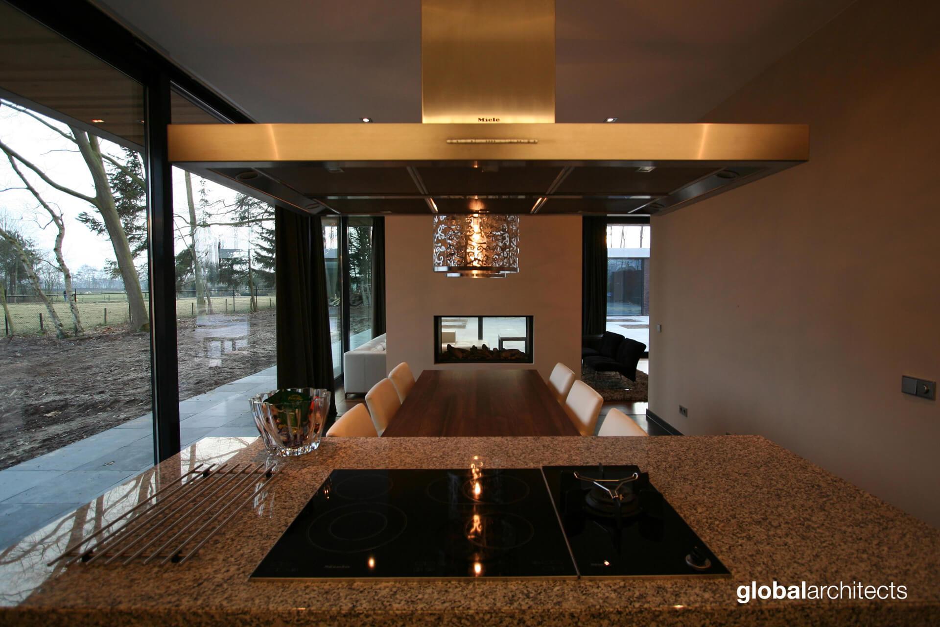 Paralax villa nijverdal zelfbouw droomhuis glas open architectuur