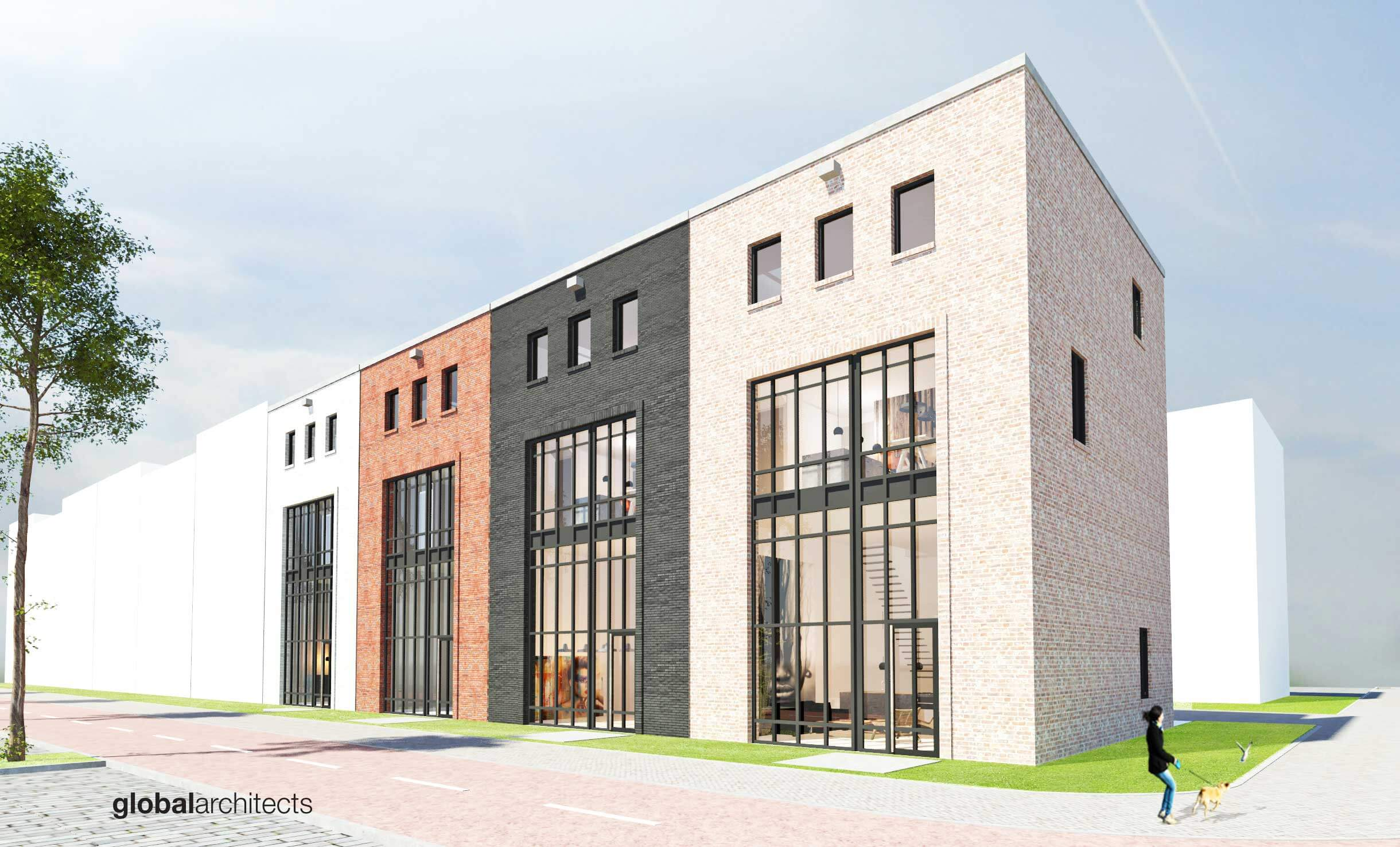 Urban-factory-Kavels-Petroleumhaven-West-architect-architectenbureau-zelfbouw