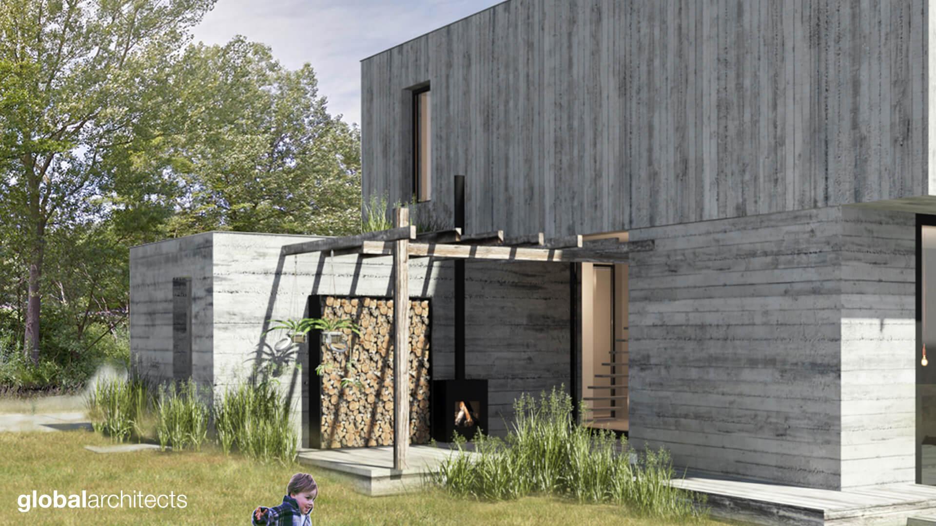 Architectenbureau Den Haag : Architect schapenatjesduin kavel zelfbouw architectenbureau