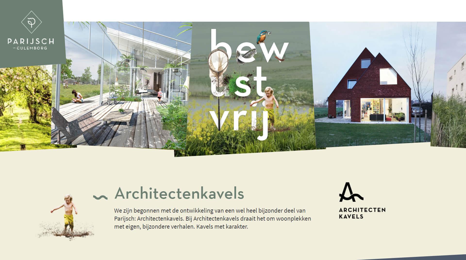 Architectenkavels Voorne-Putten kavels met karakter