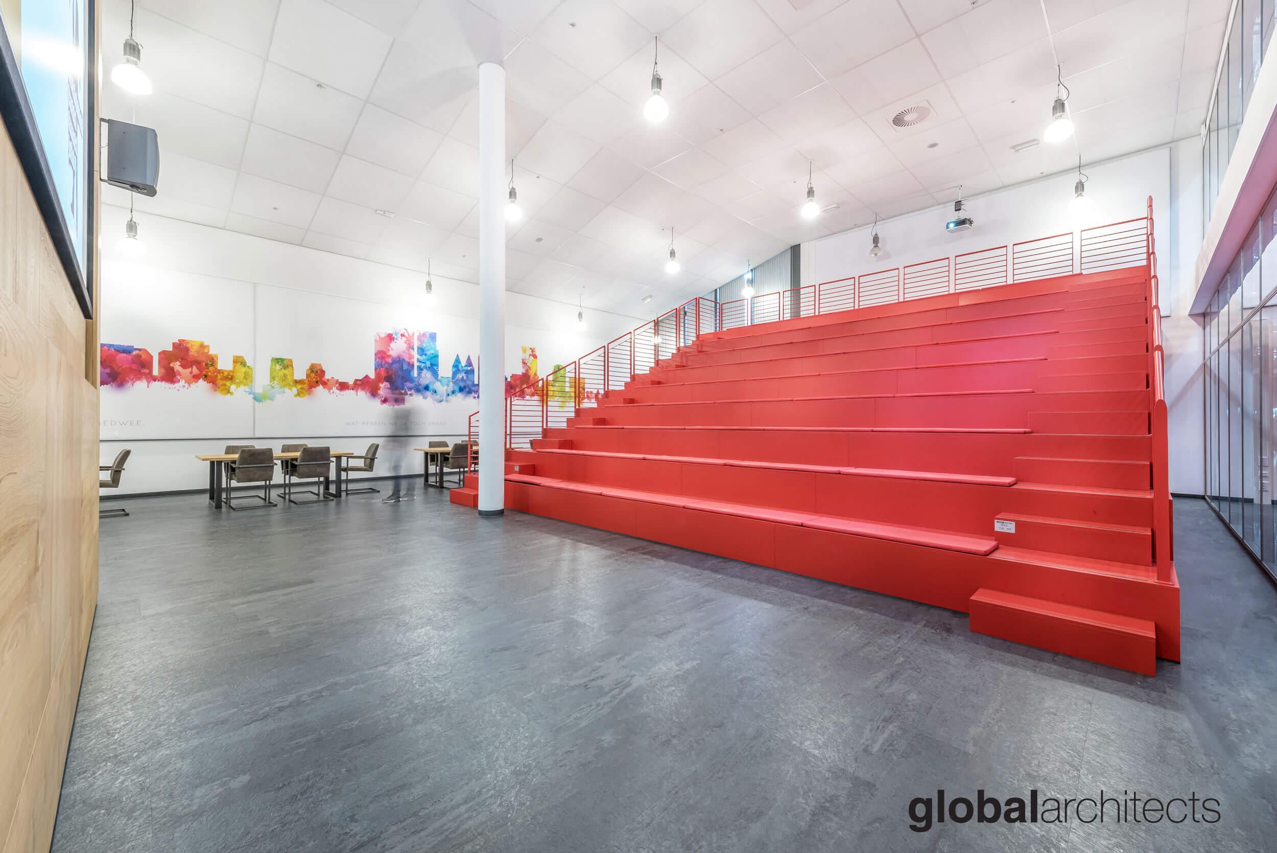 Architectenbureau Den Haag : Roc mondriaan interieur ontwerp architect architectenbureau
