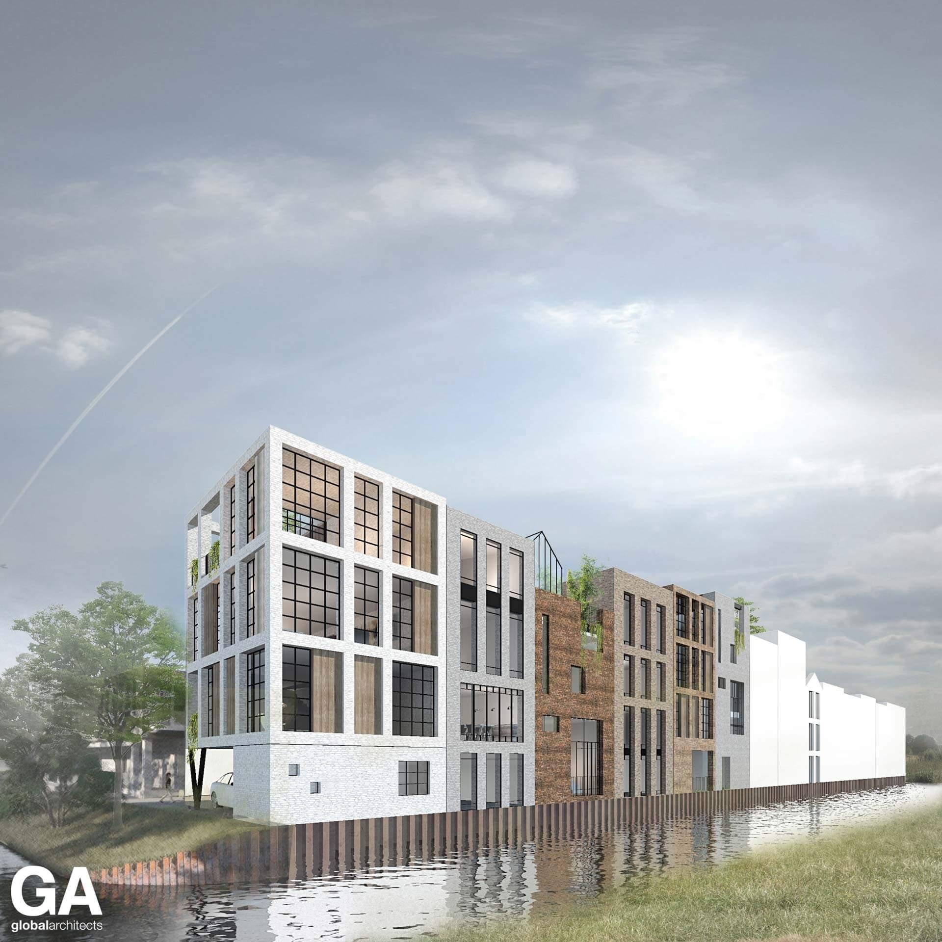 Steenvlinder Leiden Global Architects Nijverheid DN20 DN21 DN22 DN23 DN24