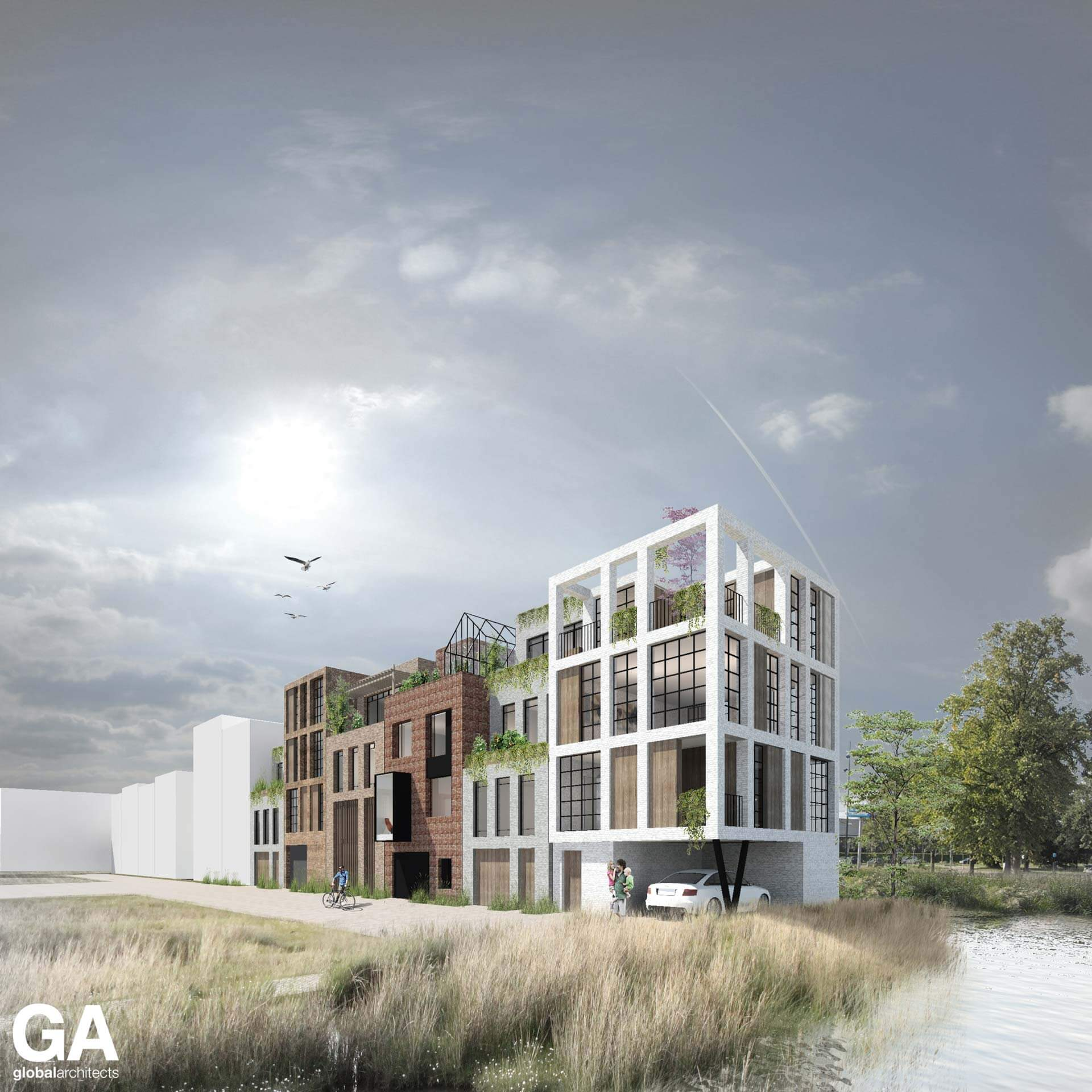 Steenvlinder Leiden Global Architects Nijverheid DN20 DN21 DN22 DN23 DN24