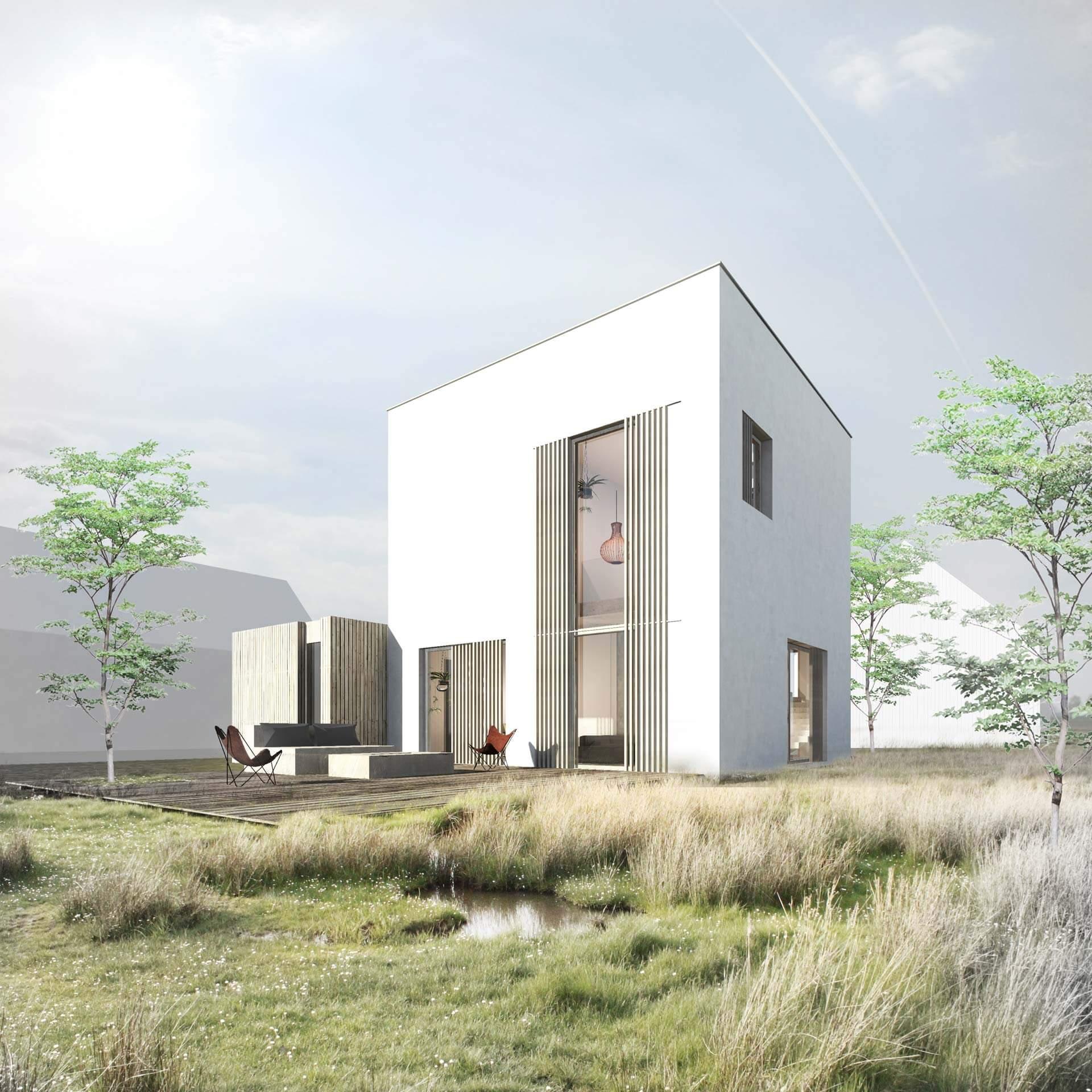House as a Cube