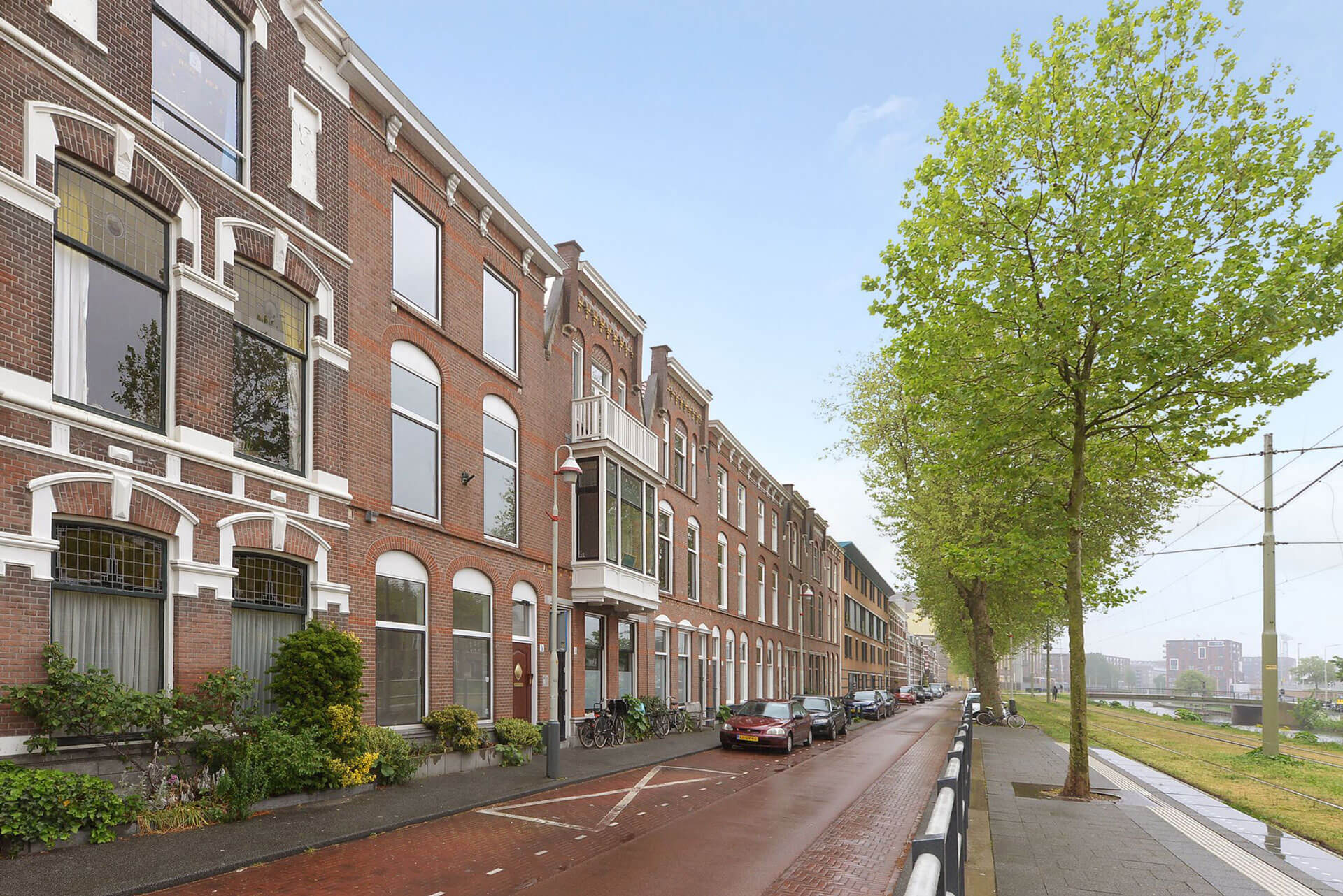 The terraced house renovation Conradkade, The Hague